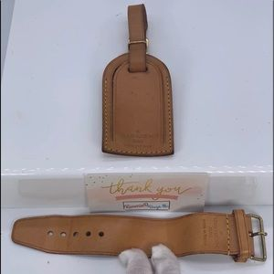 Louis Vuitton Luggage Tag and Strap - 1